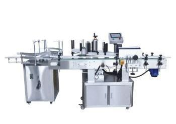 High speed fully automatic round bottle labeling