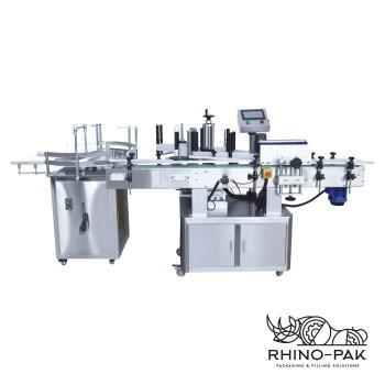 High speed fully automatic round bottle labeling machine